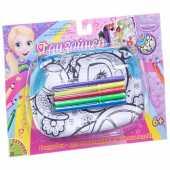"""""""Черепаха"""" - сумка для раскрашивания Bondibon ВВ1794"""