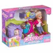 Игровой набор Cute Girl - Прогулка с питомцами, K899-24