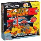 Игровой набор Realtoy  Стройплощадка,звук, свет 28370