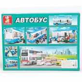 Констр.уктор SLUBAN  Городской автобус 235 деталей M38-B0330R