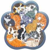 """Зоопазл """"Кошки"""" (14 деталей, дерево), 8067/45"""