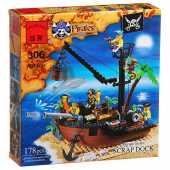 Конструкто ENLIGHTEN Пиратский док 178 деталей 306.