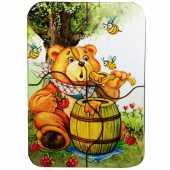 """Мини пазл """"Медвежонок и мед"""", IG0042"""