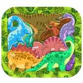 """Зоопазл """"Динозавры"""" (9 деталей, дерево), 8076/30"""