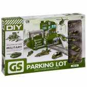 Набор военный участок  с парковкой Г93576