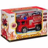 Пожарная машина на р/у (на аккум., свет), 128A-13