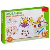 Мозаика «МИР НАСЕКОМЫХ» - Логические, развивающие игры и игрушки Bondibon