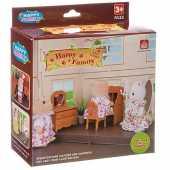 Игровой набор Happy Family с фигуркой - Комната, 012-05B