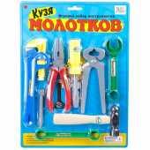 Набор  инструментов Кузя Молотков ZYK-009C-4
