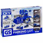 Набор полицейский участок с парковкой Г93573
