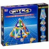 Магнитный конструктор WITKA, 40 палочек и 24   шарика  00333D