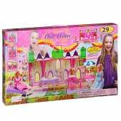 Дом для куклы раскладной 29 деталей, 3240